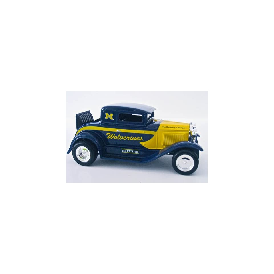 University of Michigan Ford Model a Coupe Street Rod Limited Edition