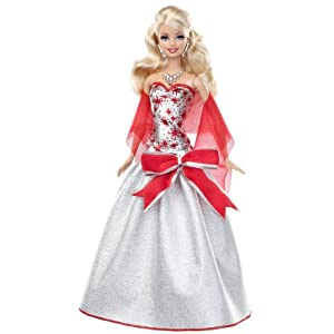 Barbie Holiday Sparkle Barbie Doll