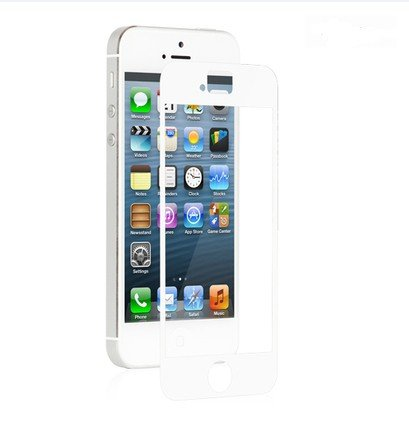 Ggs 0.5Mm Self-Adhesive Optical Glass Lcd Screen Protector For Apple Iphone 5 White