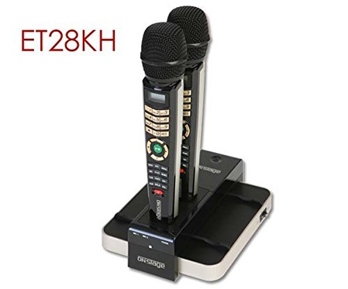 ENTERTECH ET28KH TAGALOG VERSION ONSTAGE DUAL WIRELESS MAGIC KARAOKE MICROPHONE
