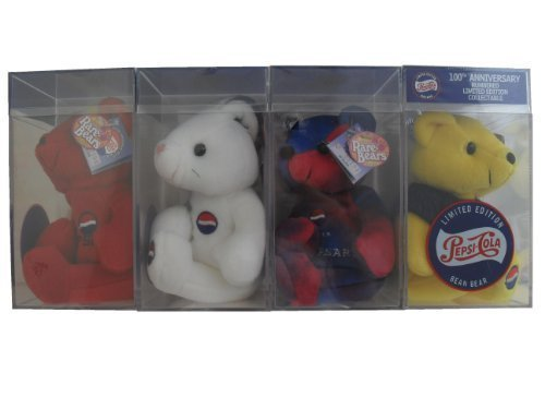 Pepsi Cola 100th Anniversary 1999 Set Four Bears Set in Case by Dart Flipcards Inc. günstig