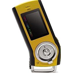iriver フラッシュメモリープレーヤー T10 1GB オレンジイエロー T10 1GB-OY