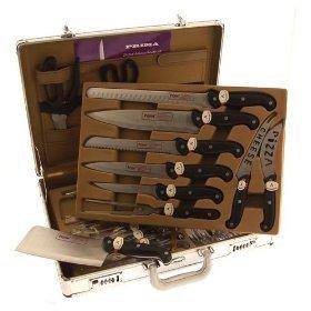Prima 24 PC Deluxe Knife set in Aluminium Case