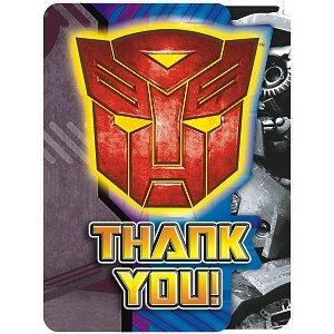 Transformer 2 Thank You - 8/Pkg.