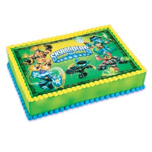 Skylanders Birthday Party Cake Ideas