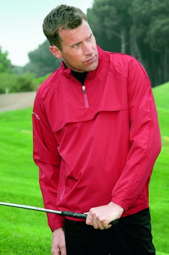 Glenmuir Mens Rain Bloc Pro Waterproof Lightweight Golf Jacket 25% OFF - XL - Silver
