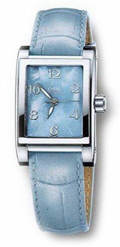 Oris Women's 56175264055LS Miles Automatic Leather Strap Watch