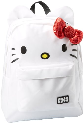 Hello Kitty SANBK0015 Backpack,White/Red/Black,One Size
