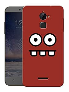 """Big Eyes And Mouth Printed Designer Mobile Back Cover For """"Coolpad Note 3 Lite"""" By Humor Gang (3D, Matte Finish, Premium Quality, Protective Snap On Slim Hard Phone Case, Multi Color)"""