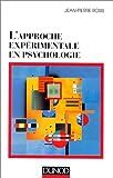 echange, troc Jean-Pierre Rossi - L'approche experimentale en psychologie
