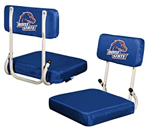 Boise State Broncos Hard Back Stadium Seat Chair - Ncaa College Athletics by Logo Chairs