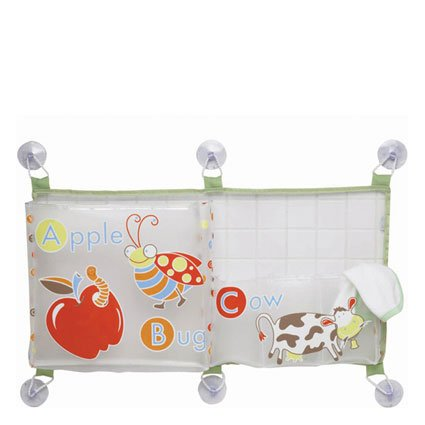 Ore Originals Living Goods Horizontal Bath Tub Toy Bag Alphabet