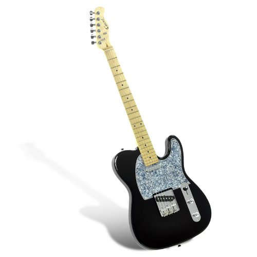 """Electric Guitar """"Gecko Ge-263 Tl"""" - Single Coil Pickups + T Style Pickup, 22 Frets front-560918"""
