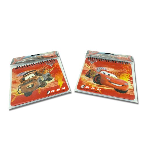 Disney Pixar Cars, Lightning McQueen & Tow Mater, Spiral Notebook (2 Pack) - 1