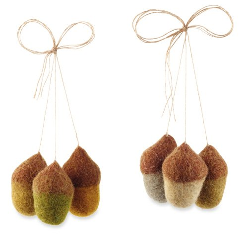 Felt Acorns By Mud Pie