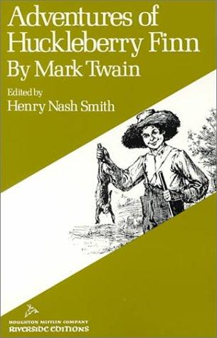 Adv of Huck Finn Riverside Edition Paperback (Riverside editions)
