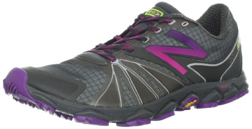 New Balance Women's WT1010v2 Minimus Trail Running Shoe,Grey/Purple,5 D US