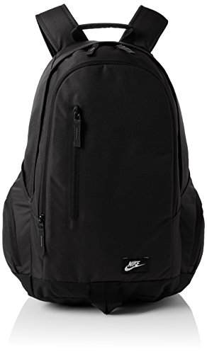 Nike All Access Fullfare Zaino, Black/Black/(White), Taglia Unica