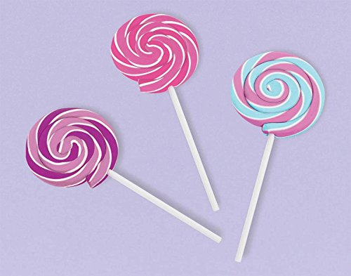 eraser lollipop sweet treat - 1