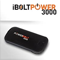 iBOLT PowerBolt 3000 mA Portable Battery