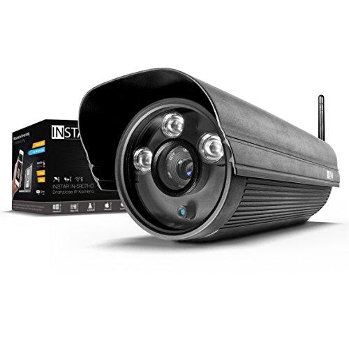 INSTAR IN-5907HD Wlan IP Kamera / HD Sicherheitskamera für Außen / IP Überwachungskamera / IP cam mit LAN & Wlan...