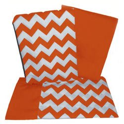 Chevron Rocking Chair Cushion - Color: Orange dimanche 134