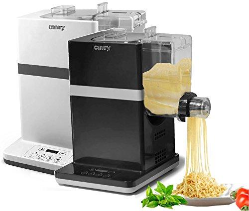 Unbekannt elektrische Pastamaker Nudelmaker automatische Pastamschine Nudelmaschine in weiß und schwarz 150 Watt für 6 Nudelsorten (schwarz)