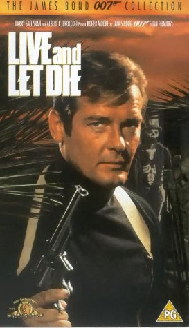 Live and Let Die [VHS] [1973]