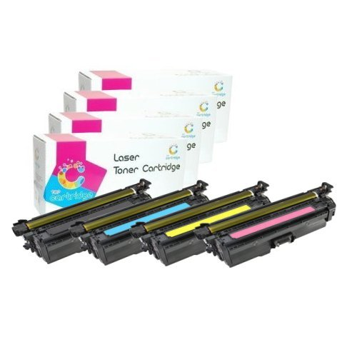 HP CE400X CE401A CE402A CE403A compatible laser toner print cartridges 507A / 507X (Black - HIGH CAPACITY Black Friday & Cyber Monday 2014