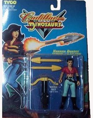 Cadillacs and Dinosaurs Hannah Dundee Scientist Diplomat Action Figure