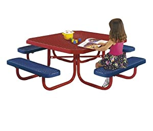 Ultra Play Childs Square Outdoor Table by Ultra Play