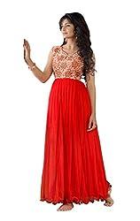 Vinayak Textile Women's Net Gown