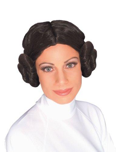 Rubie' s ufficiale Star Wars Principessa Leia parrucca, Adulto, taglia unica