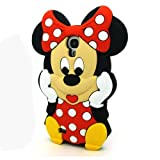 For Samsung Galaxy S4 IV i9500 3D Cartoon Lovely Cute Disney Soft Silicone Case Cover (Mickey - 2)