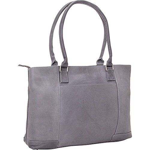 le-donne-leather-womens-laptop-tote-gray