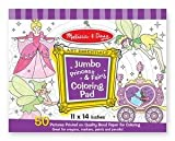 41G2fyRmH%2BL. SL160  Melissa &amp; Doug Princess &amp; Fairy Jumbo Coloring Pad