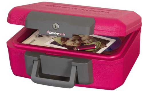 Sentrysafe 1200Pk Pink Bca Fire Chest
