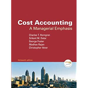 cost accounting a managerial emphasis 15th edition solutions manual pdf