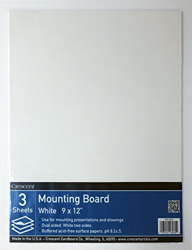 crescent-x-mounting-board-value-pack-3-count-9-x-12-size