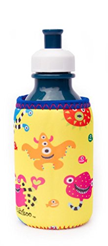 Kidzikoo - #1 Neoprene Baby Bottle/Sippy Cup Insulator - Silly Sea Monsters - 1