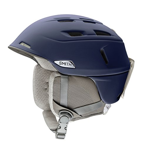 Smith Women's Compass: Snow Helmet (Matte Midnight, Small)