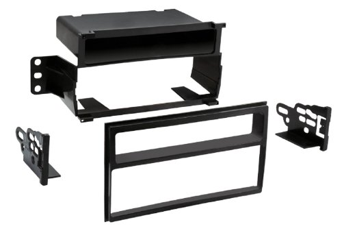 Metra 99-7610B Nissan Versa/Juke Single or Double DIN Dash Kit , Black