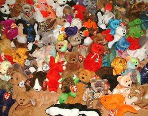 3 (Three) Ty Beanie Babies BRAND NEW - Random Wholesale Lot