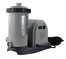 INTEX 1500 GPH Easy Set Swimming Pool Filter Pump with Timer ...