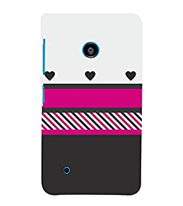 Colorful Pattern Design 3D Hard Polycarbonate Designer Back Case Cover for Nokia Lumia 530 :: Microsoft Lumia 530