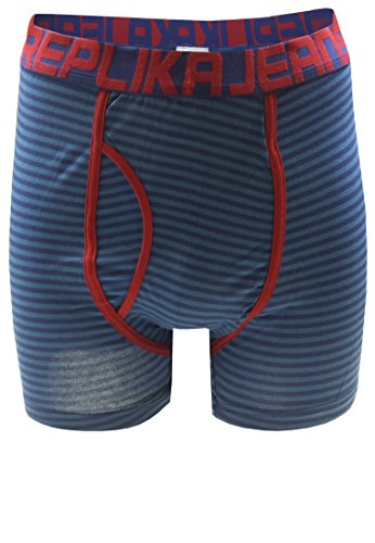 Replika -  Boxer  - Uomo blu XXXL