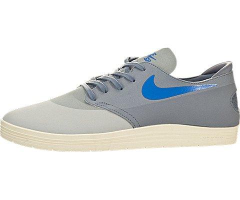 Nike-Mens-Lunar-Oneshot-Skateboarding-Gray-Lifestyle-Sneaker-Shoe