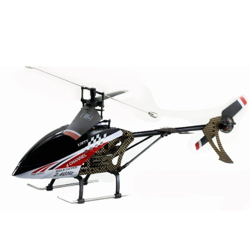 Big Bargain 2012 New Design FX059 4CH 2.4G Single Propeller RC Helicopter With Gyro