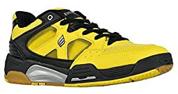 Ektelon NFS Attack Low Racquetball Shoe- Yellow/White/Black-10.5