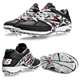 New Balance L4040PK2 4040v2 Men's Metal Baseball Cleats (Black/White)